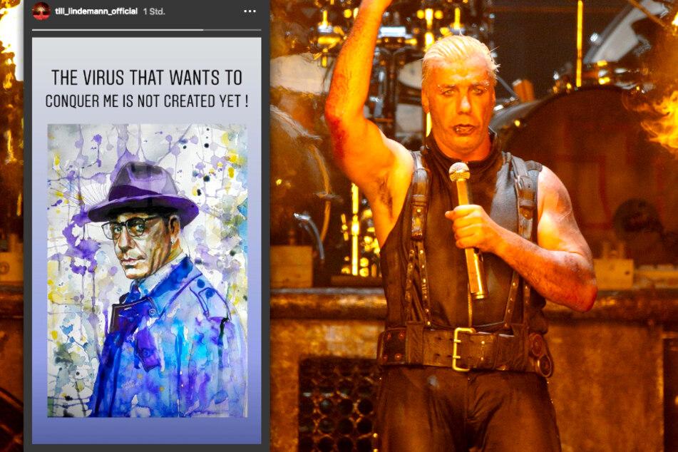 Till Lindemann (57) hat sich bei seinen Fans gemeldet.
