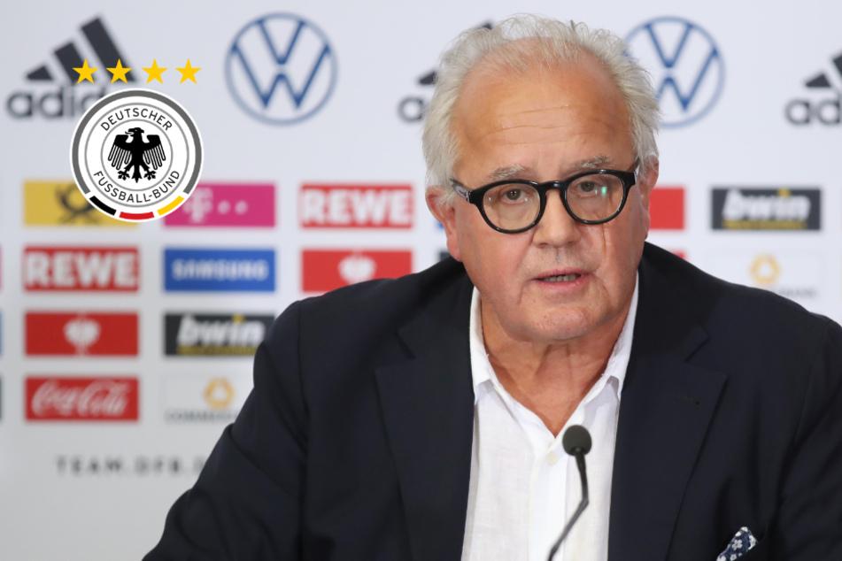 DFB-Präsident Keller hält an hohem EM-Ziel der Nationalmannschaft fest