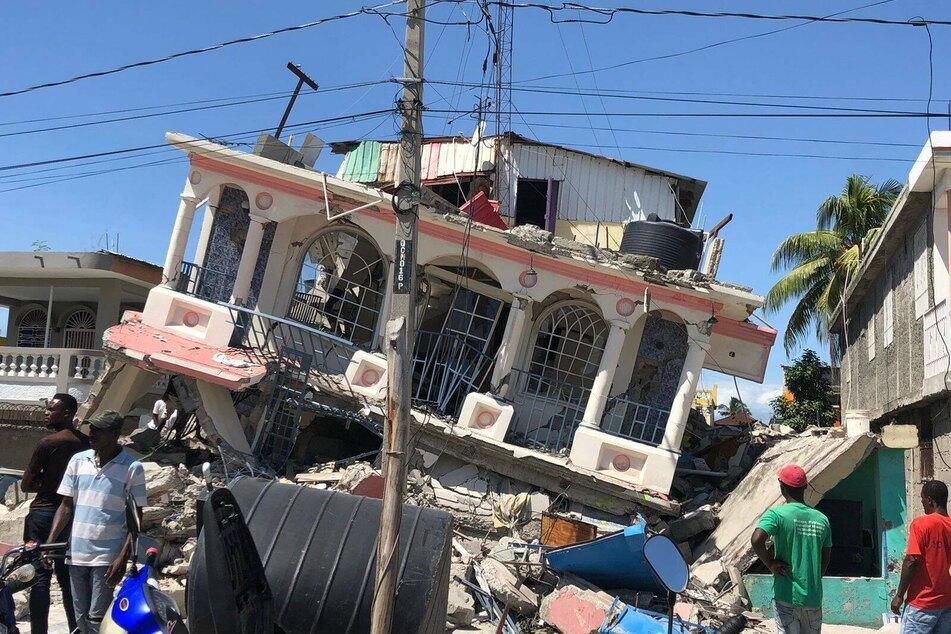 Haiti earthquake death toll passes 1,200 as rescuers continue search for survivors