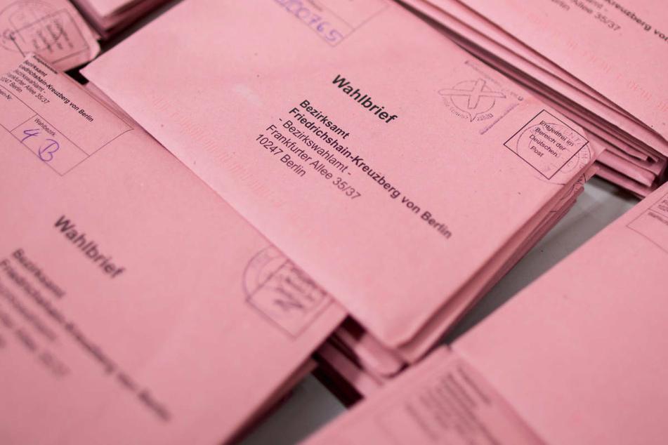 In mehreren Berliner Bezirken soll es zu Unregelmäßigkeiten im Zusammenhang mit verschickten Briefwahlunterlagen gekommen sein. (Archivfoto)