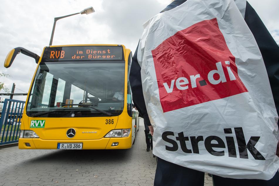 Erneuter Warnstreik: Viele Busse und Bahnen im Norden fahren nicht!