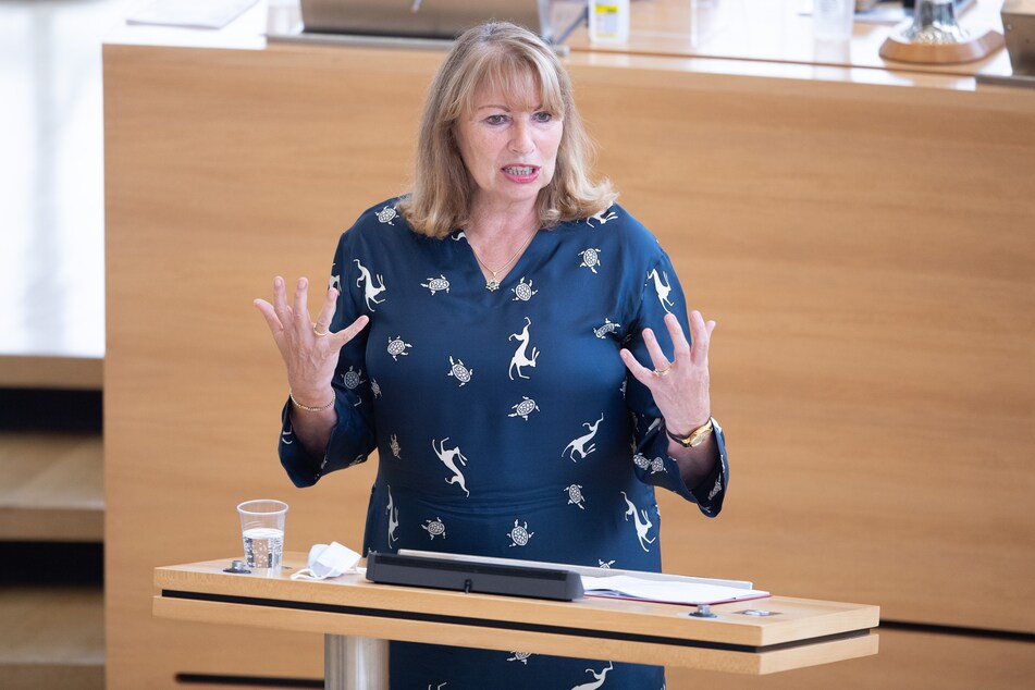 Sachsens Gesundheitsministerin, Petra Köpping (63, SPD).