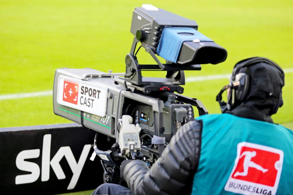 Sky freut sich über den Bundesliga-Neustart.