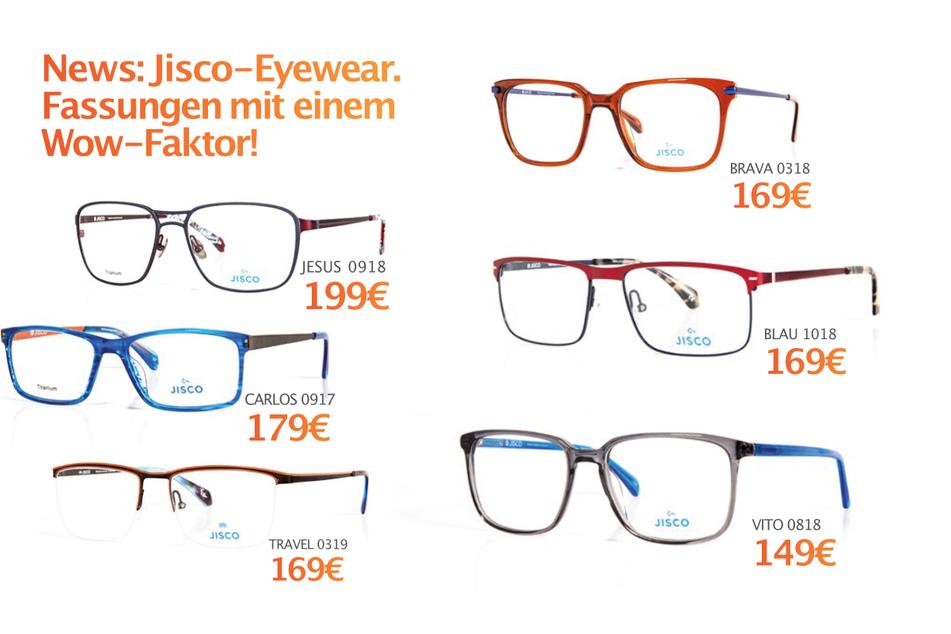 Jisco-Eyewear Brille ab 149 Euro.