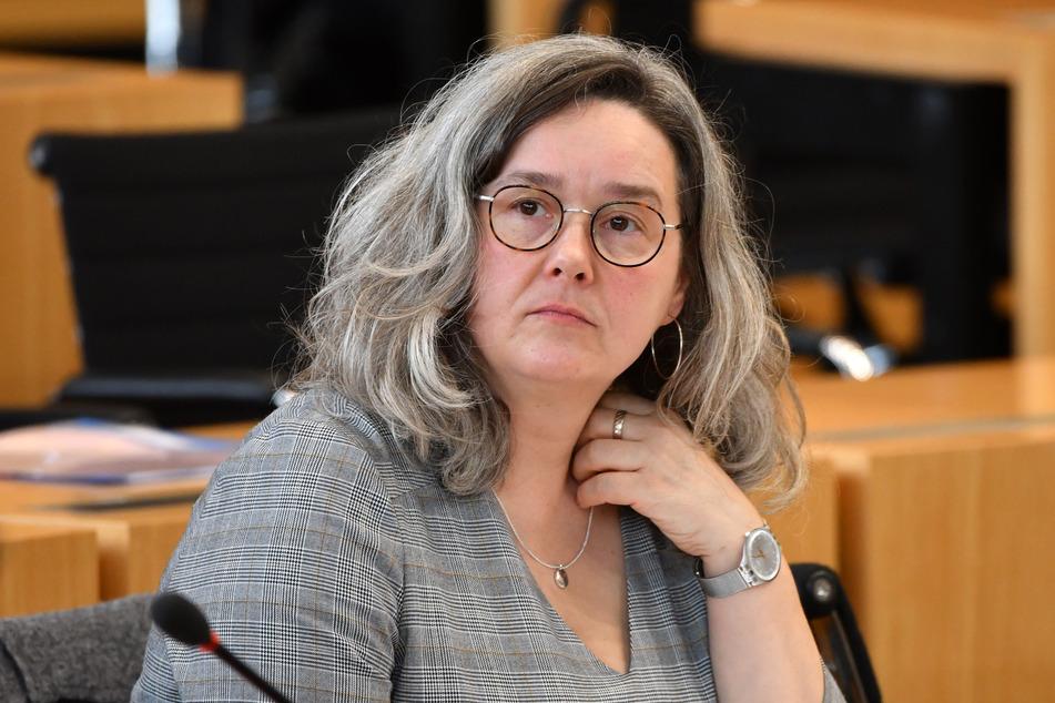 Heike Werner (Die Linke), Ministerin für Arbeit, Soziales, Gesundheit, Frauen und Familie von Thüringen.