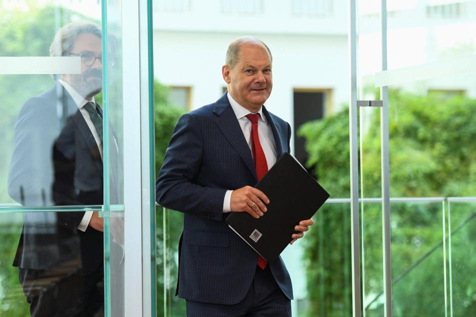 Finanzminister Olaf Scholz (SPD) hält die steigende Schuldenquote des Bundes wegen der Corona-Krise für gut verkraftbar.