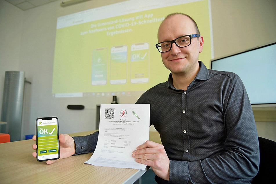 Im Vogtland erfunden: Schnelltest-App wird zur Erfolgsgeschichte