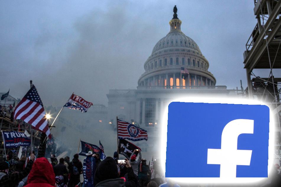 Facebook mitschuldig am Sturm des US-Kapitols? Demokraten äußern schwere Vorwürfe