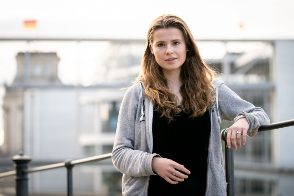 Luisa Neubauer erhofft sich viel von der nächsten Klima-Demo in Berlin.