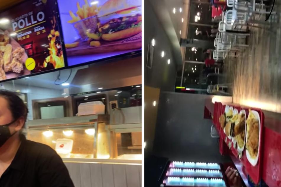 Die Mitarbeiter der Fast-Food-Kette zeigten sich schockiert. So etwas sei zuvor noch nie passiert!