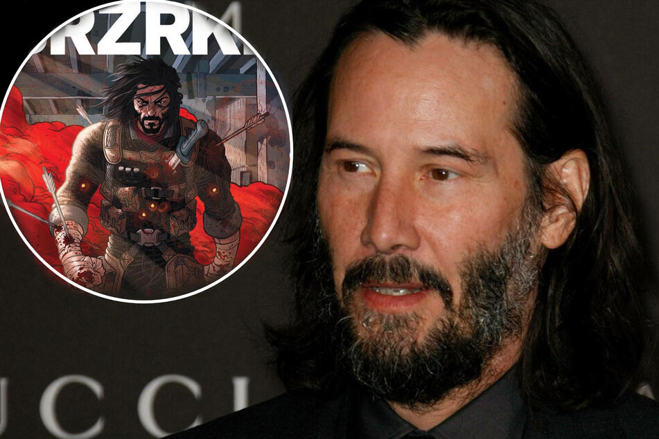 Netflix will bring Keanu Reeves' epic BRZRKR comic series to the screen!