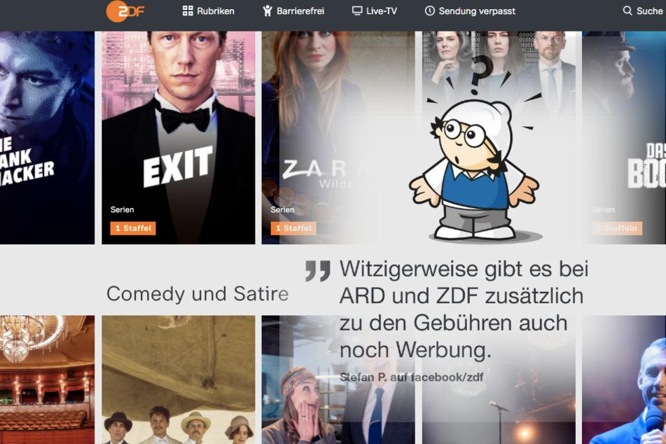 """Warum muss ich """"GEZ"""" zahlen, wenn ARD und ZDF auch Werbung senden?"""