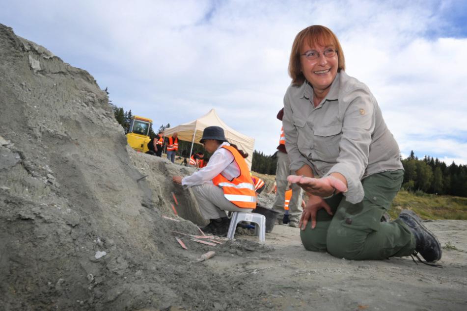 Madelaine Böhme, Paläontologin der Universität Tübingen.
