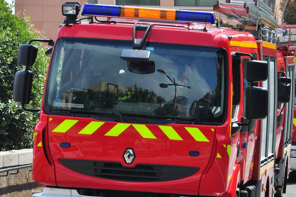 Das Feuer in Frankreich wurde mit Absicht gelegt.