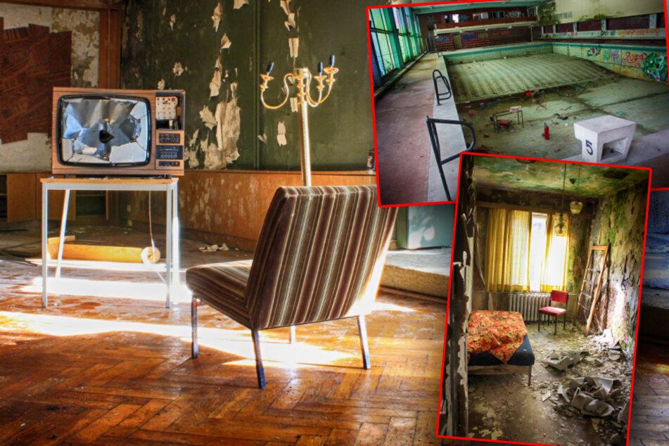 Dieses Hotel im Erzgebirge war einst eine Top-Adresse: Jetzt verfällt es!