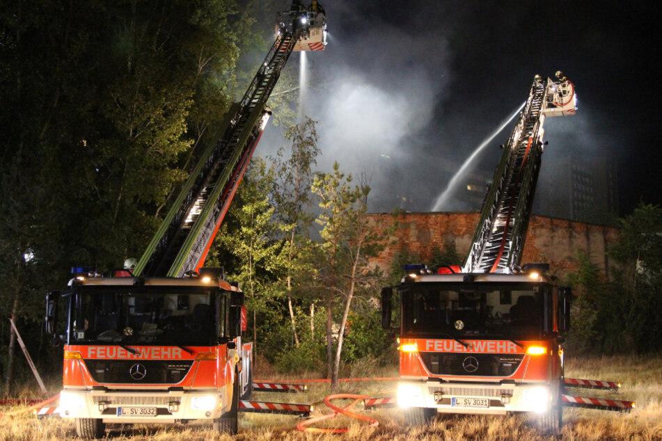 Das Abrisshaus stand in der Vergangenheit schon mehrere Male in Flammen.