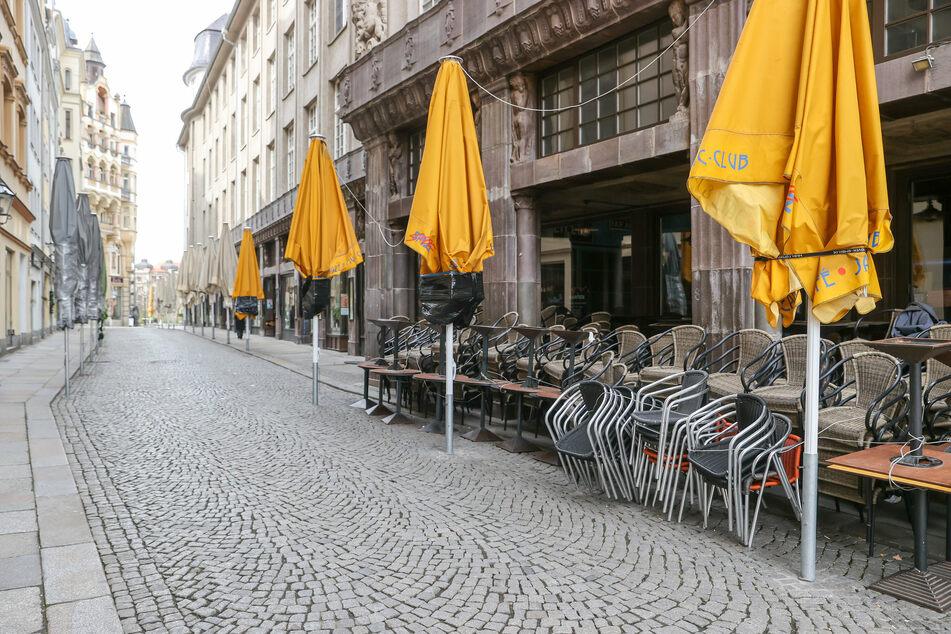 Noch sind die gastronomischen und kulturellen Einrichtungen in Leipzig geschlossen, doch das könnte sich schon bald ändern. (Archivbild)