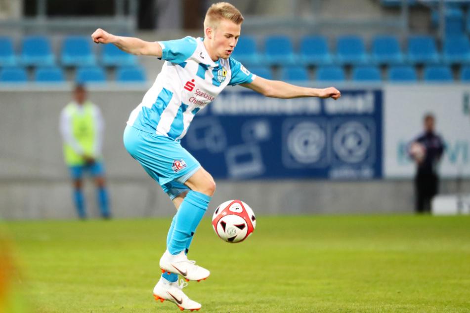 Jakob Gesien (22) wechselte im Januar 2020 vom Chemnitzer FC zum FSV Luckenwalde und soll der Offensive mit seiner Dynamik Schwung verleihen.