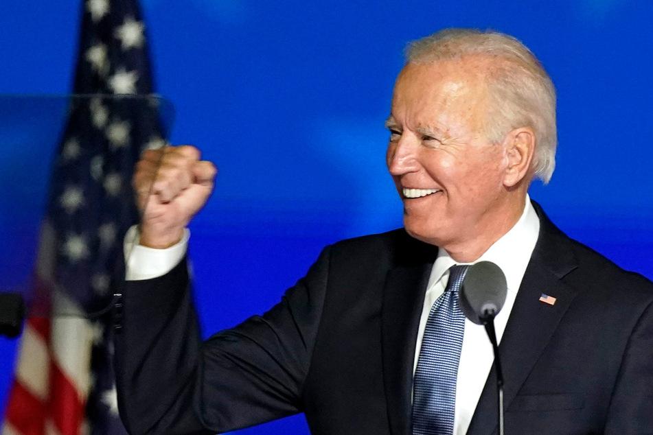 Der demokratische Präsidentschaftskandidat Joe Biden (77).