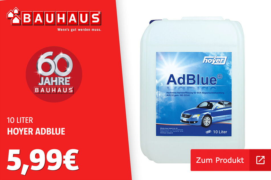 AdBlue für 5,99 Euro.