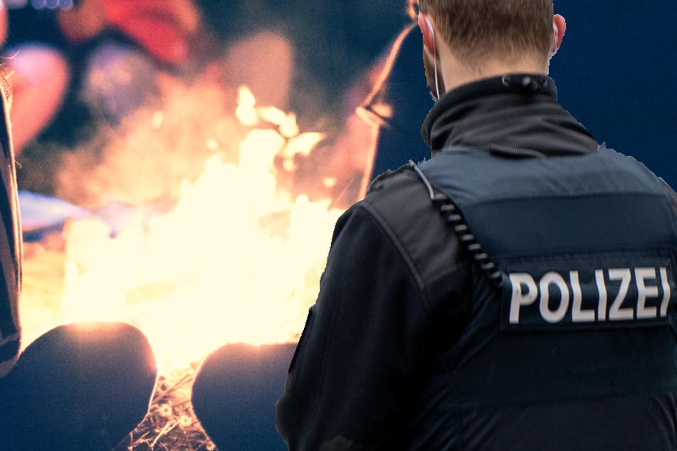 Polizei löst Corona-Lagerfeuer-Party mit 40 Personen auf, doch es steckt noch mehr dahinter