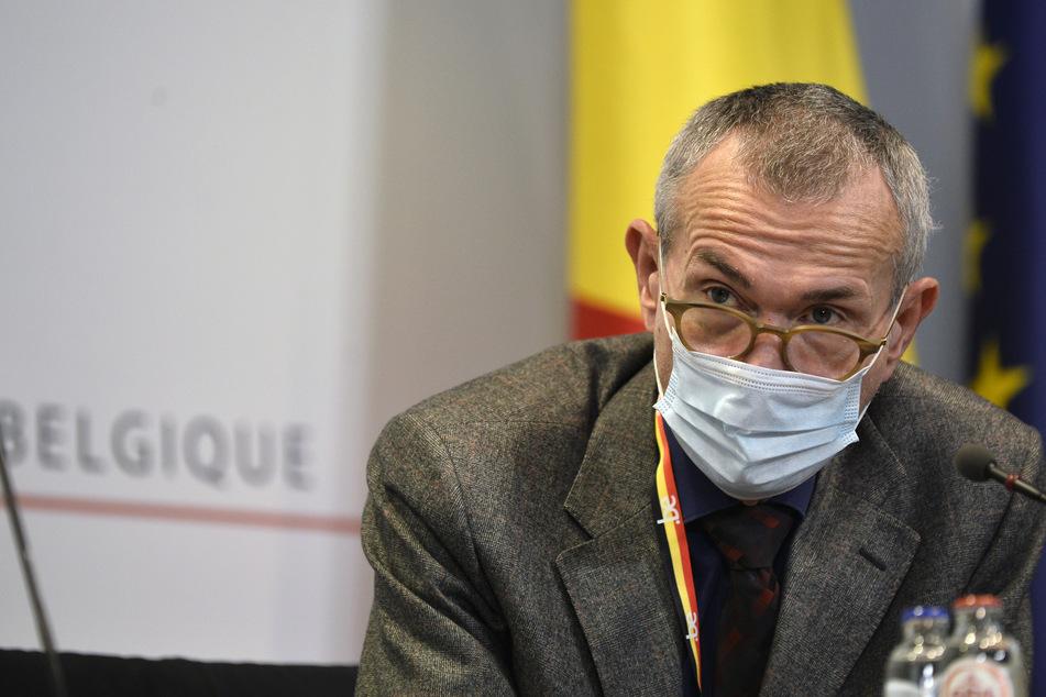 Frank Vandenbroucke, Vize-Premierminister von Belgien und Minister für Gesundheit und Soziales.