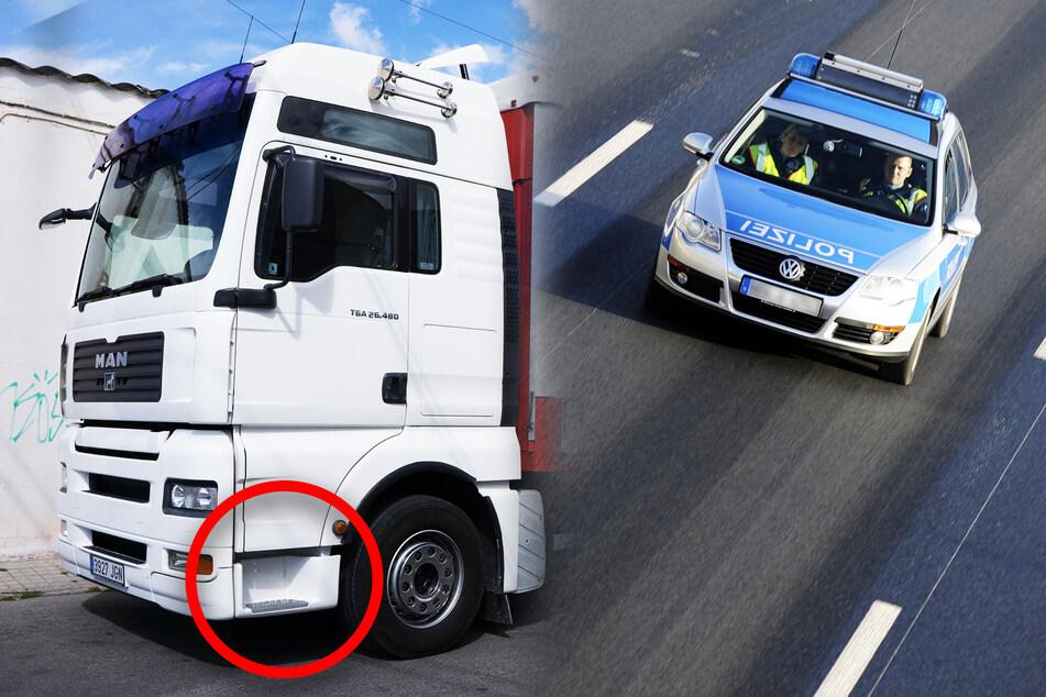 Lastwagenfahrer verliert viel Geld und Papiere auf der A4: Suche erfolglos!