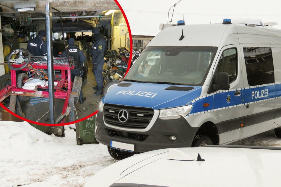 Da klicken die Handschellen: Sachsens Spezialisten schlagen in Polen zu!