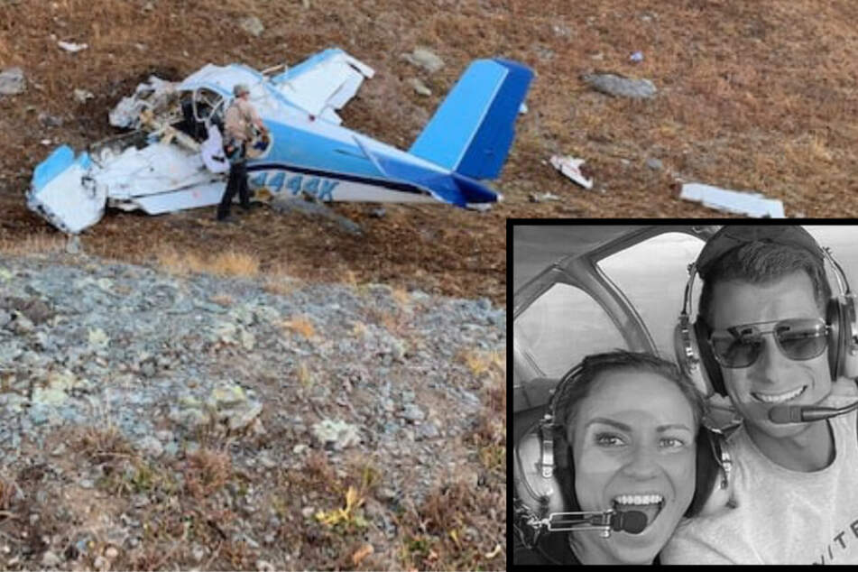 Tragischer Flugzeugabsturz: Junges Ehepaar stirbt kurz nach seiner Hochzeit