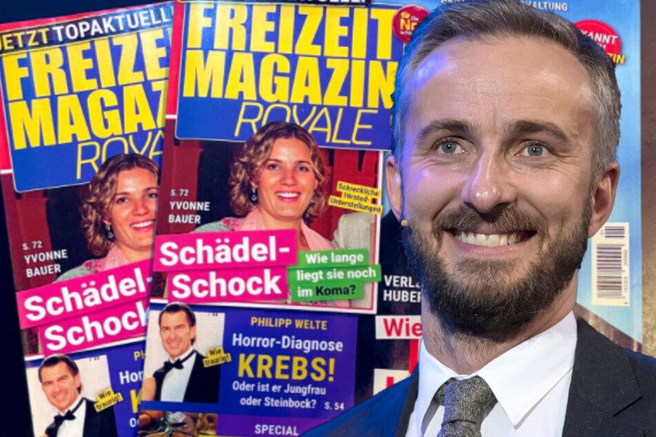 Jan Böhmermann bringt Klatschmagazin raus: Dahinter steckt ein genialer Coup