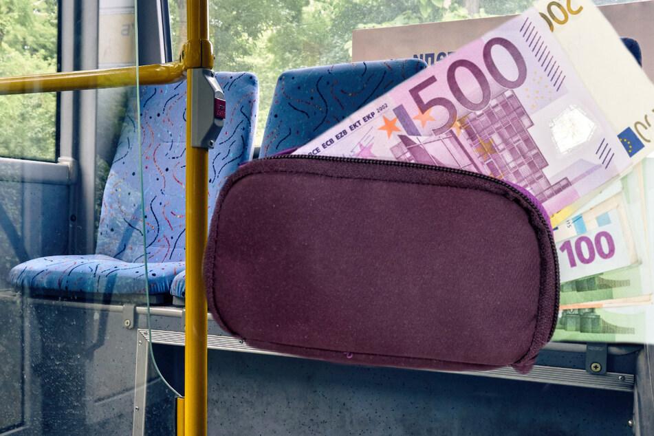 Ganz schön vergesslich: Eine Frau ließ 40.000 Euro Bargeld im Bus liegen. (Symbolbild)