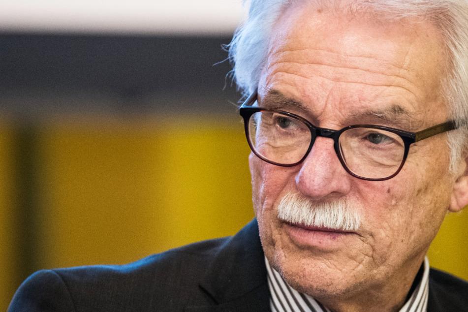 Das Foto aus dem Februar 2017 zeigt Rolf Kahnt, den Alterspräsident des hessischen Landtags.