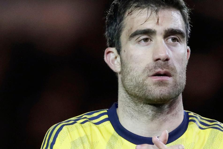 Noch im Dress des FC Arsenal London: Sokratis (32).