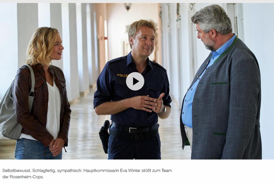 """In der ZDF-Mediathek gibt es neben dem Trailer zur neuen Kommissarin weitere unzählige Folgen der """"Rosenheim Cops""""."""