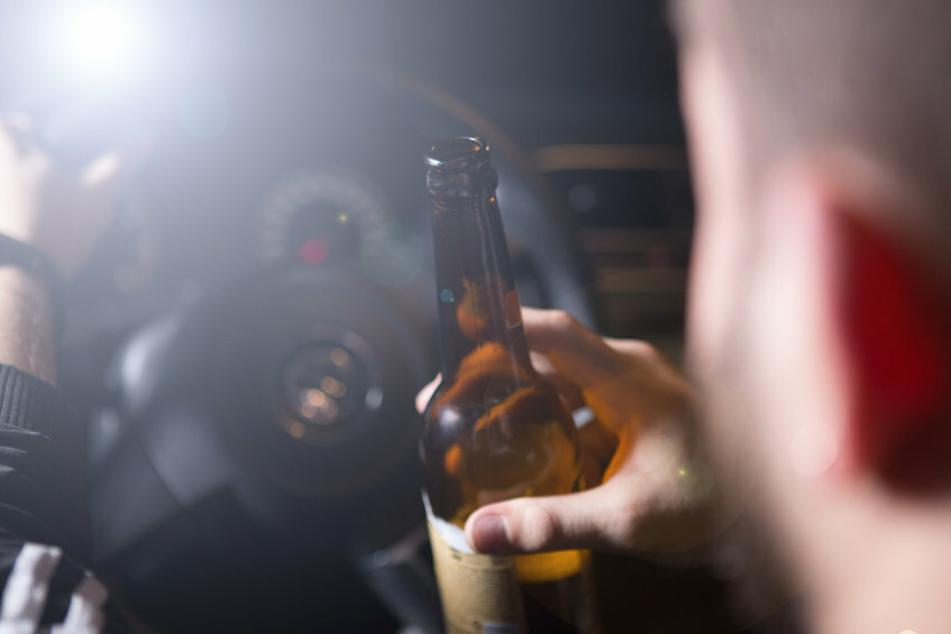 Die Alkoholfahrt des 23-Jährigen blieb nicht ohne Folgen. (Symbolfoto)