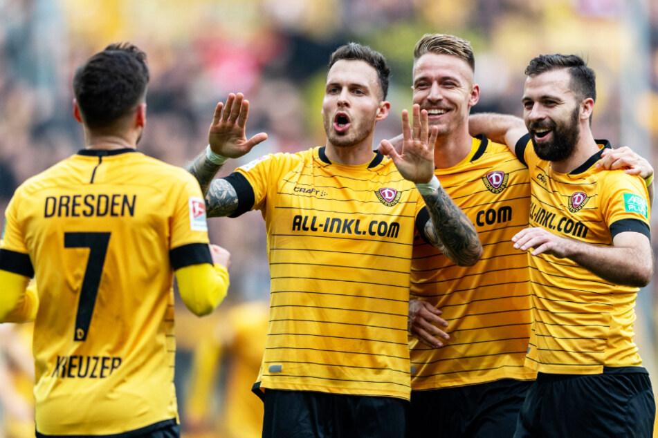 Dynamo Dresden kann sich über die volle Unterstützung seines Hauptsponsors ALL-INKL.COM zählen. (Symbolbild)