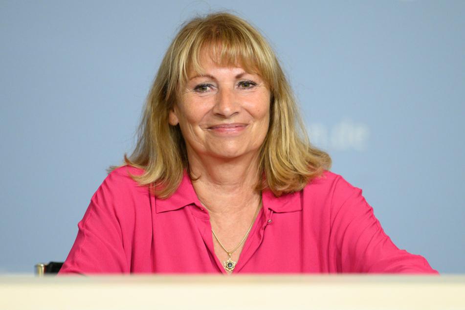 Sachsens Sozialministerin Petra Köpping (63, SPD) erläuterte am Dienstag die neue Vorgehensweise des Freistaates während der Corona-Pandemie.