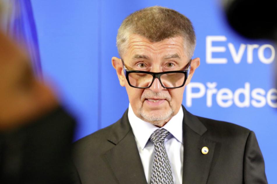 Der tschechische Ministerpräsident Andrej Babis (65).
