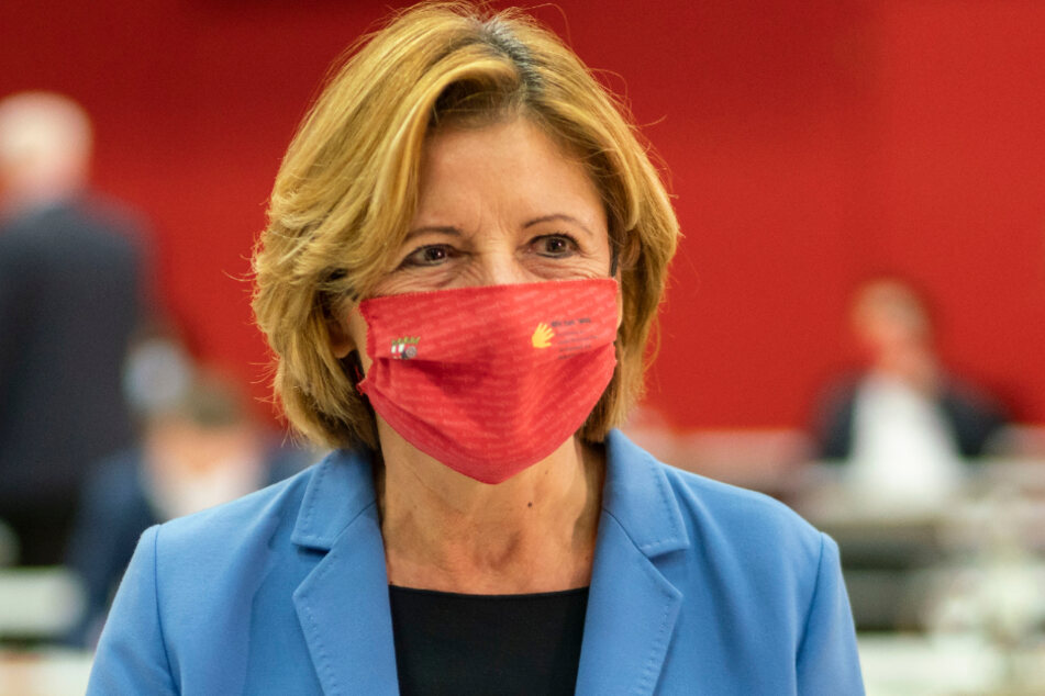 Die rheinland-pfälzische Ministerpräsidentin Malu Dreyer (59, SPD).