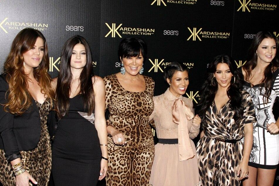 A blast from seasons past: (From l to r) Khloe Kardashian, Kylie Jenner, Kris Jenner, Kourtney Kardashian, Kim Kardashian, and Kendall Jenner in 2011.