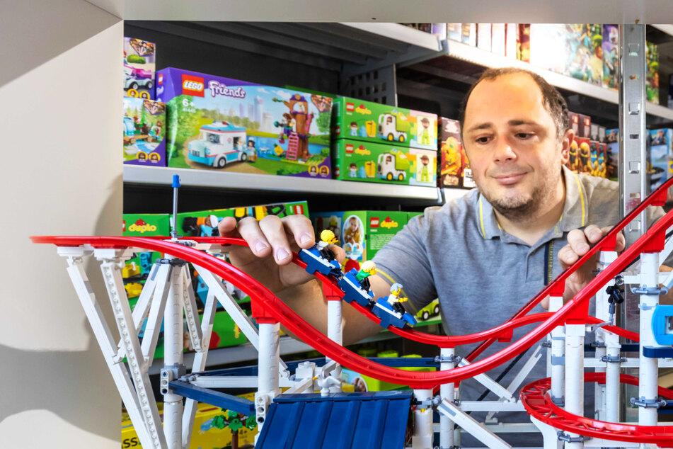 Chemnitz: Chemnitzer LEGO-Sammler erfüllt sich Traum vom eigenen Laden