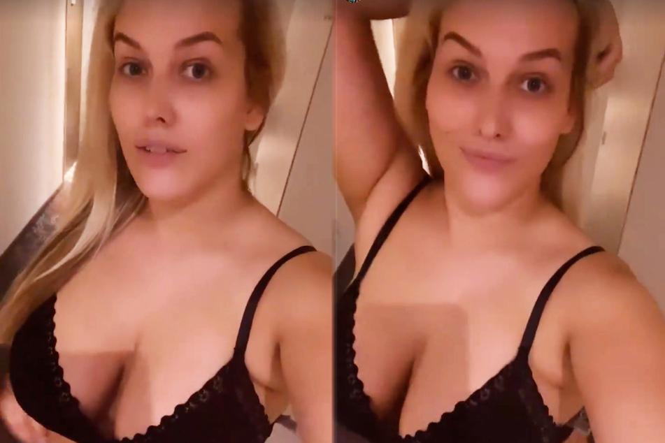 Am Samstagmorgen zeigte sich Josimelonie (27) in einer Instagram-Story aus ihrem Hotel in Köln recht knapp bekleidet und präsentierte so ihr voluminöses Dekolleté.