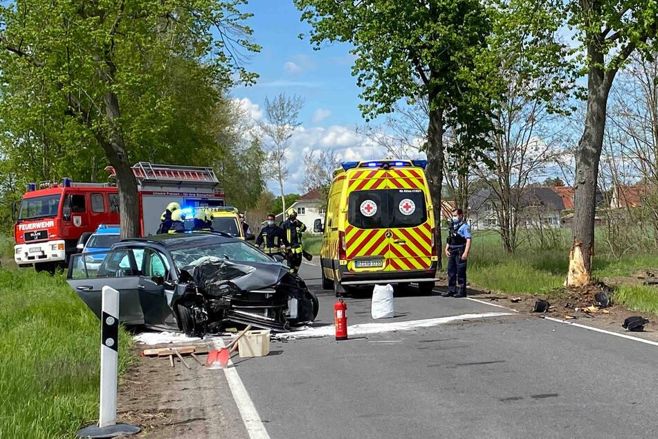 Feuerwehr, Polizei und Rettungswagen waren im Einsatz.