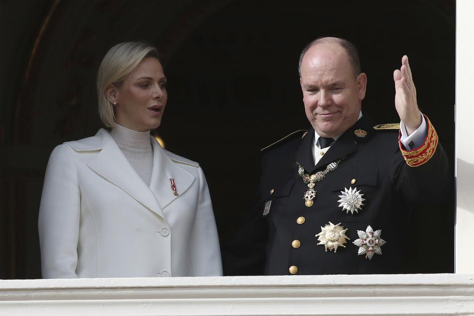 Fürst Albert II. und seine Charlène. (Archivbild)