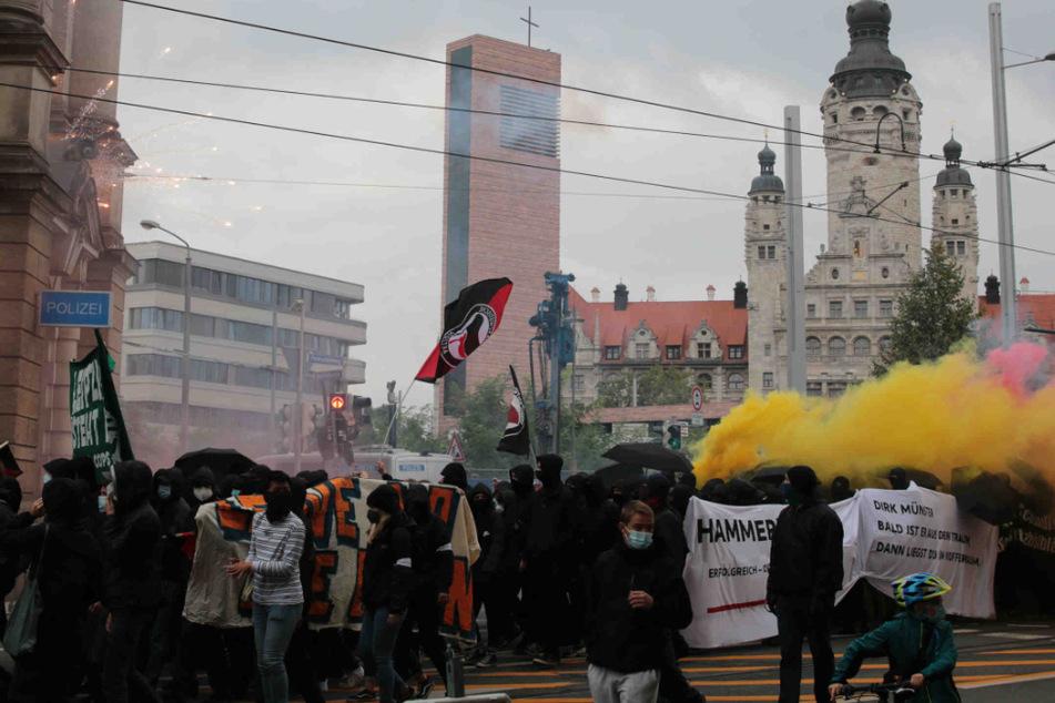 """Leipzig: Leipzigs OB kritisiert """"Wir sind alle LinX""""-Demo: """"Demokraten müssen sich distanzieren"""""""