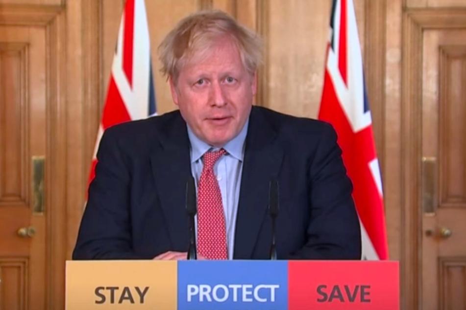 Boris Johnson ist mit dem Coronavirus infiziert.