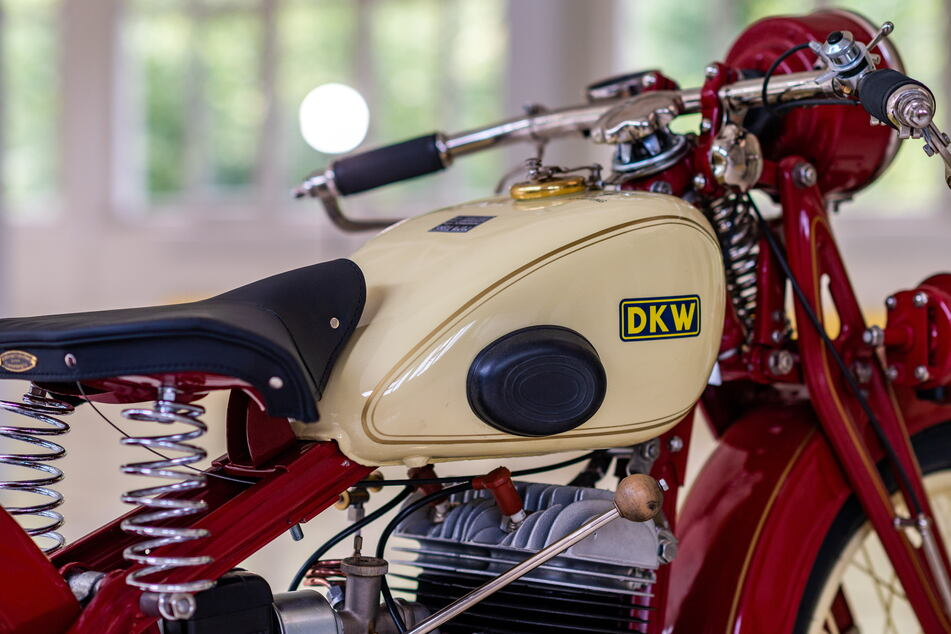 Glänzt wie neu: die frisch restaurierte DKW von Reiner Mattheß.