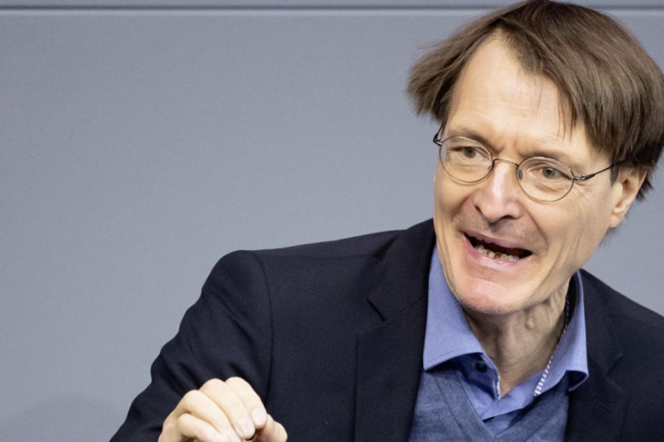SPD-Gesundheitsexperte Karl Lauterbach (57). (Archivbild)