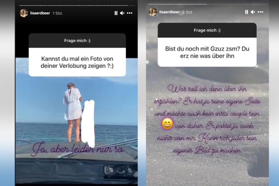 Auf Instagram offenbart Lisa Details aus der Beziehung zu dem 187-Rapper.