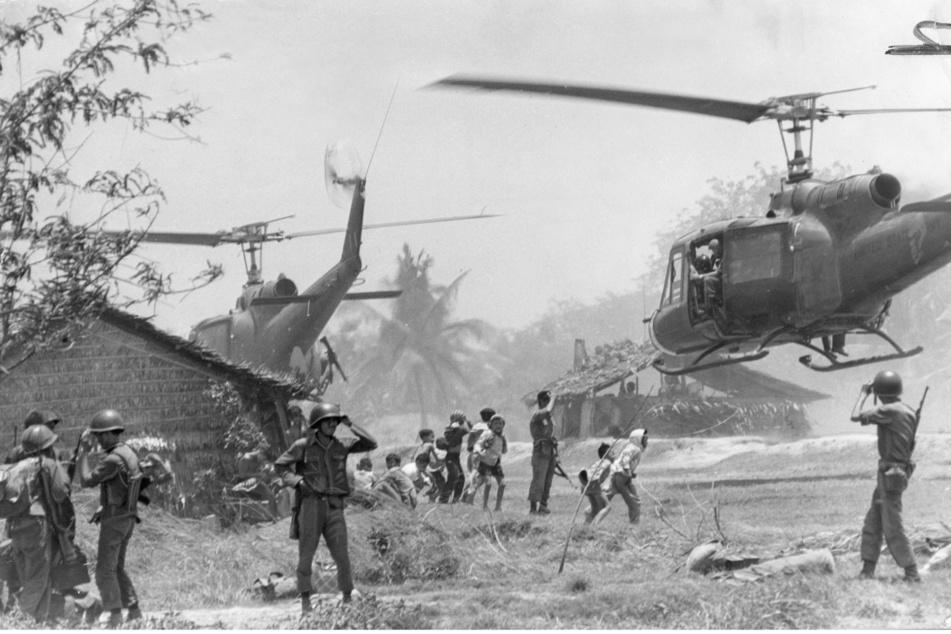 Durch den teuren Vietnam-Krieg verschuldeten sich die USA immer mehr. Der Schatz war aufgebraucht.
